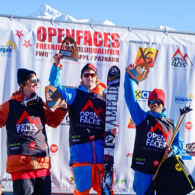 We'd like to send a huge shout out to Matthias Kurzthaler not only for his 3rd place finish at #FWQ14 in Kappl, Austria, but for sporting his Pandas on the podium, rather than his skis. Now that's some Panda love, right there... Thanks Matthias!...