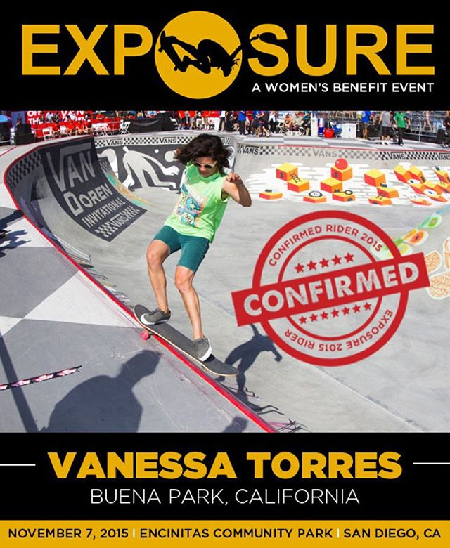 Vanessa Torres (@loccnessy) confirmed for EXPOSURE 2015!