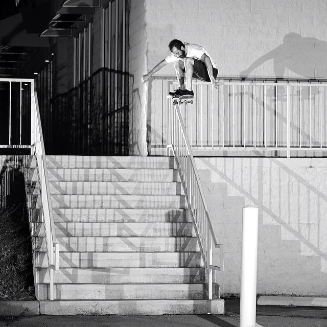 @lukeshootsphotos photo from #issue30 of #shanekassin #nollie #skateboarding #steezmagazine