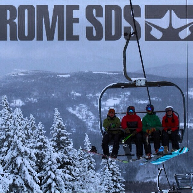 "We love snowboarders, the name of the event would have been too long if we called it the ""3rd Annual Fat Ski and Snowboard a Thon"" 
