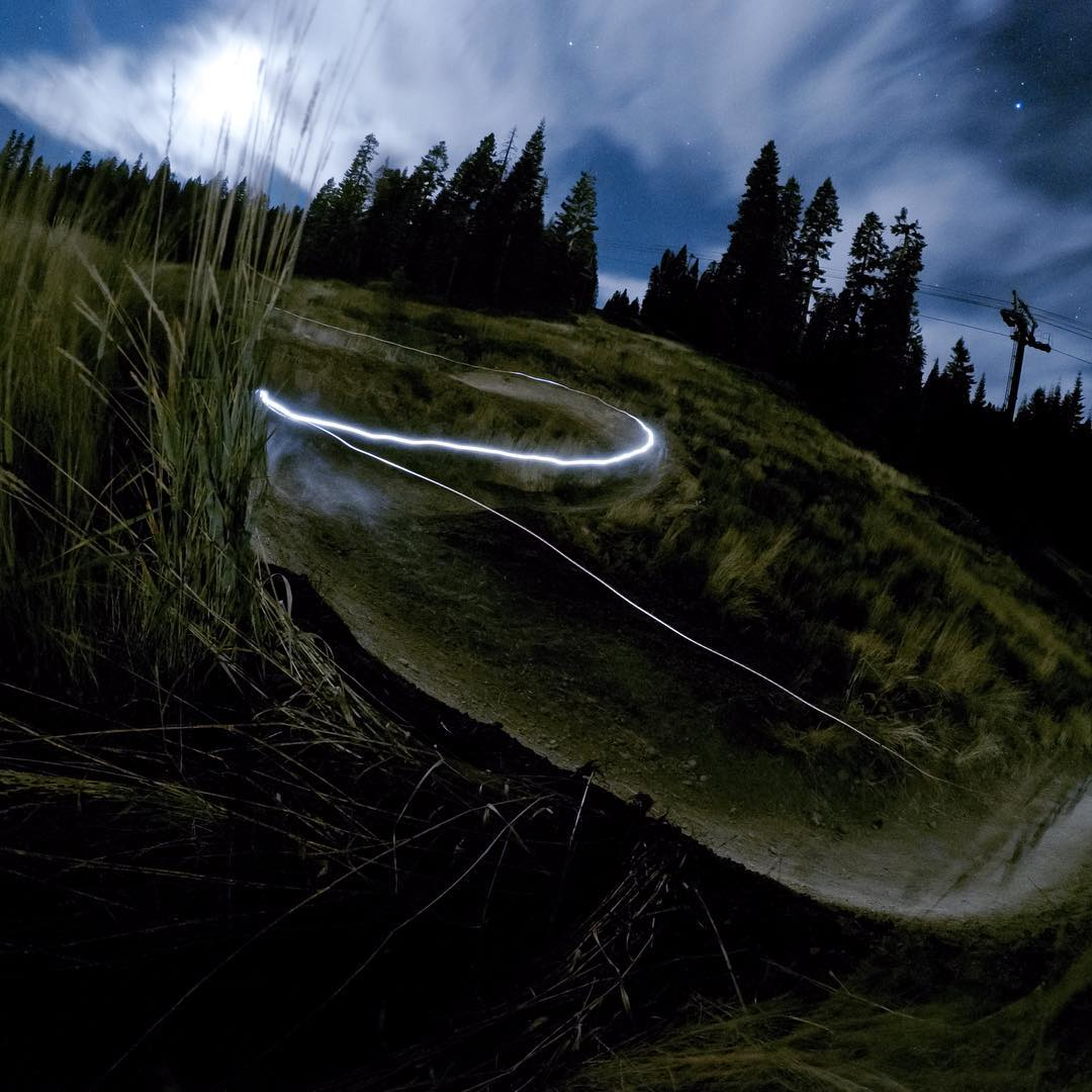 #GoPro Featured Photographer - @nickkeating  About the shot: This one was a collaboration between @aaronchase and I. It was the second night of shooting GoPro's Bike Athlete Camp at @Northstar in #Truckee, California and we had tossed around the idea...