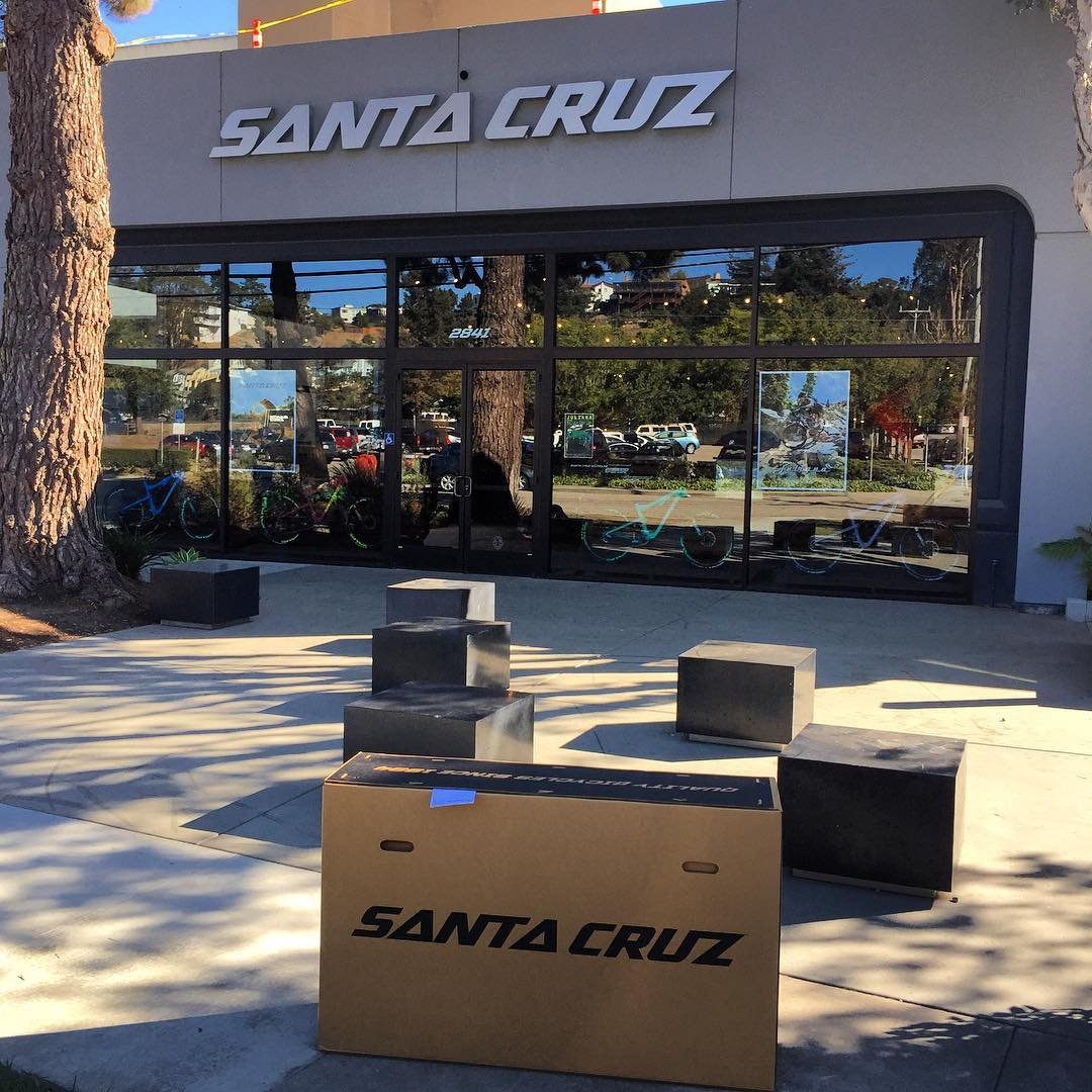 So cool to finally visit @santacruzbicycles which has been a dream of mine since I rode bikes as a kid!!! Can't wait to get my brand new #Nomad back to Southern California and rip it around the trails!! I'm feeling a trip to @snow_summit this week!!