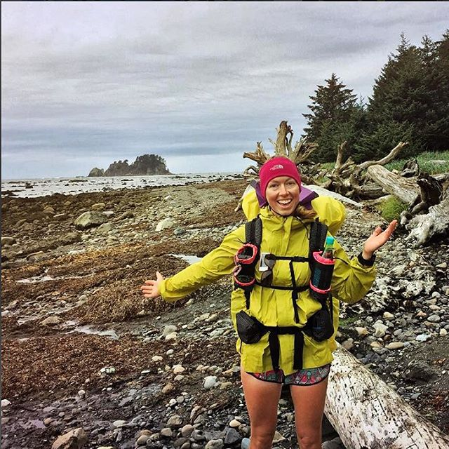 "Congrats to Julie Hotz (@julieahotz), who just reached Cape Alva, WA, on the #CrowntoCoast Trail. Julie is fundraising for ASC, and today is the last day you can give. See link in bio to help her reach her goal! . More about her adventure: ""I made it..."