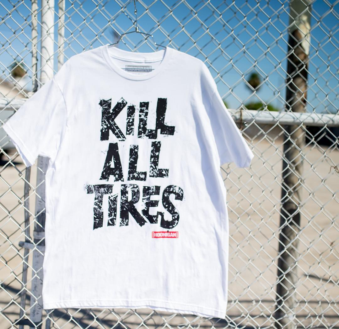 The KILL ALL TIRES remix is on #hooniganDOTcom with the rest of the lineup. Go check it. #theneedisreal