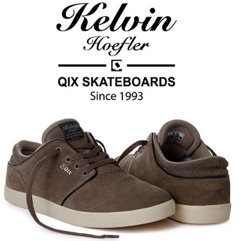 Pro Model do skatista profissional @kelvinhoefler - Conforto, durabilidade e estilo. #qixteam #skateboardminhavida