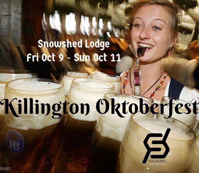 Beautiful day for @killingtonmtn #oktoberfest Fulsend booth is ready! Come by to win a ShotSki!!! #JustSendIt #thebeast #skitheeast #skiing #snowboarding #shotski #ilovermont @killingtonparks @darksidevt #WhoaBrah