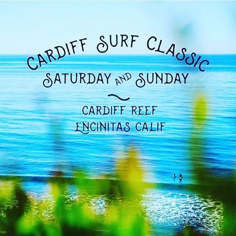 ~Epic Weekend ~  We're hanging out all weekend at the Cardiff Surf Classic with our good friends @ruthandragnar!  An awesome surf and Eco lifestyle festival hosted by the wonderful @cardiff101mainstreet and the @robmachadofoundation. Swing by the booth...