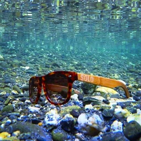 """Water is the driving force of all nature"" -Leonardo da Vinci #liveandgive #soloeyewear"