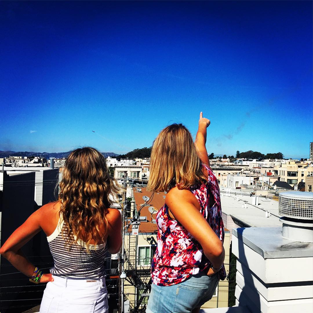 Roofs & Planes #fleetweek #sanfrancisco #bff