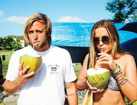 Nick Rozsa y Paige Maddison viviendo el verano en Barbados!