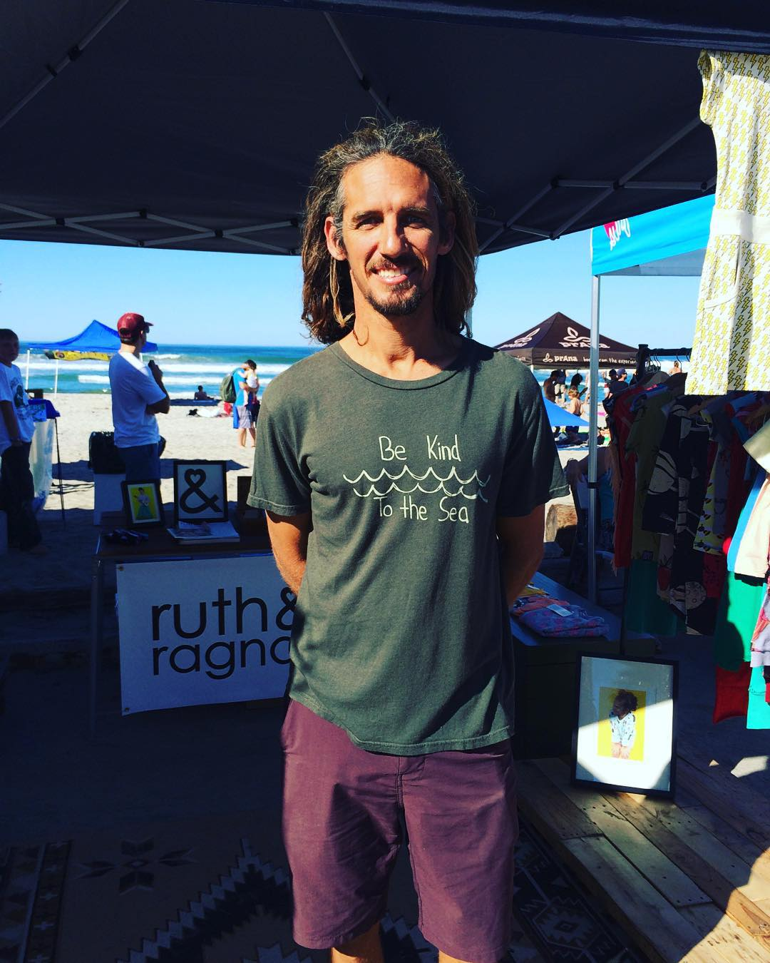~ Local Legend ~  We can't even begin to describe how stoked we are to see the legend @rob_machado wearing our To the Sea tee and supporting @bekindvibes . Rob has been one of our favorite surfers for quite some time now. His grace in and out of the...