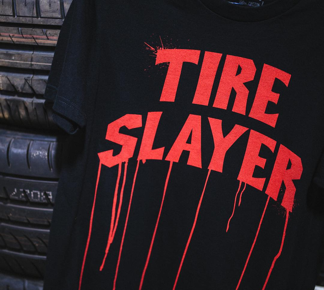 Apparel for those who slay tires. Check out the new collection on hoonigan.com (click link in bio).