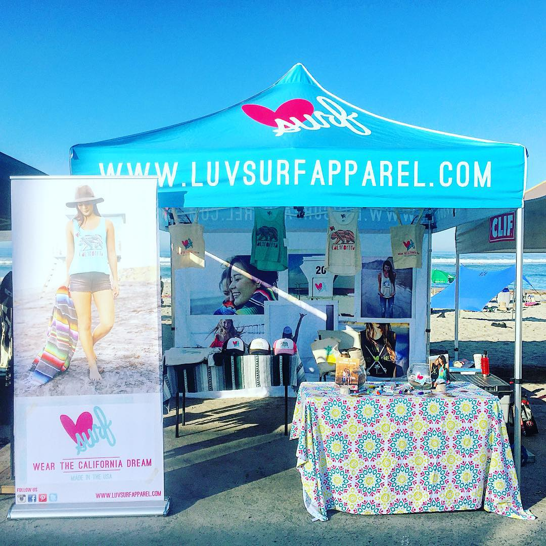 Day 2 at @cardiff101mainstreet surf classic and green beach fair! Come on down and spend the day with us! #luvsurf #wearthecalidream #cardiff @robmachadofoundation #robmachadofoundation