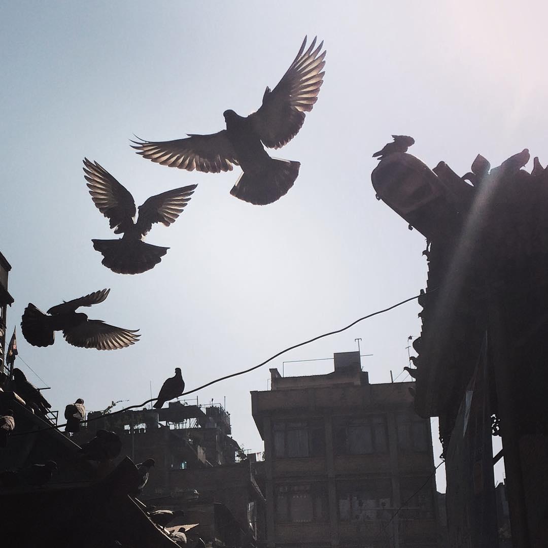 Sunday morning in Kathmandu