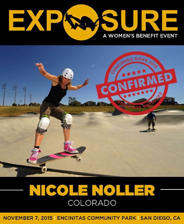 Nicole Noller (@nicolenoller) confirmed for EXPOSURE 2015!