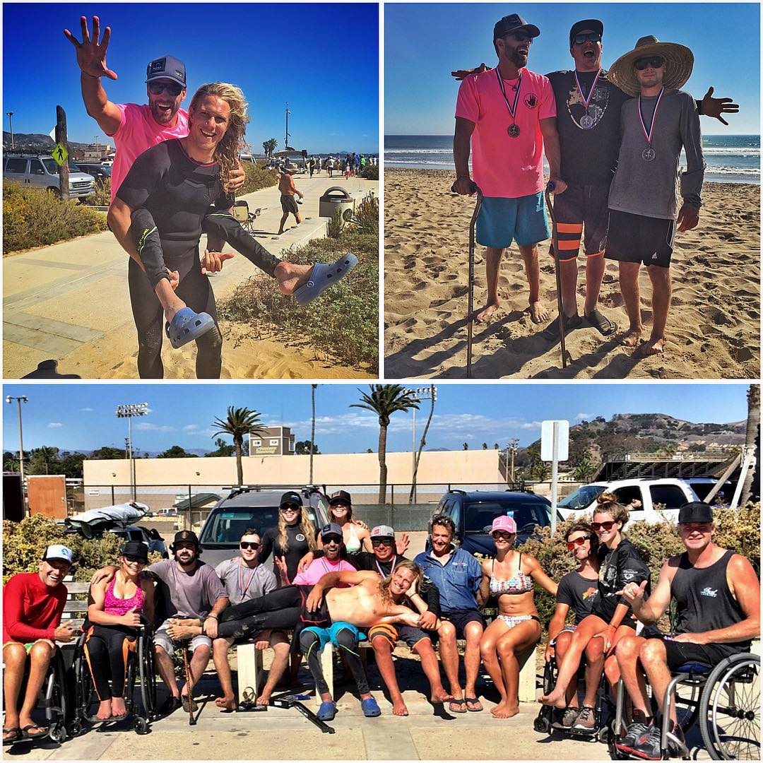 #SmilesForMiles were in full effect this past weekend in #Ventura, CA at the 2015 International Paddle Surfing Championships at C Street!! @ShawnaKorgan & I had an #AllTime weekend surfing, laughing and #HighFiving with these amazing beacons of stoke...