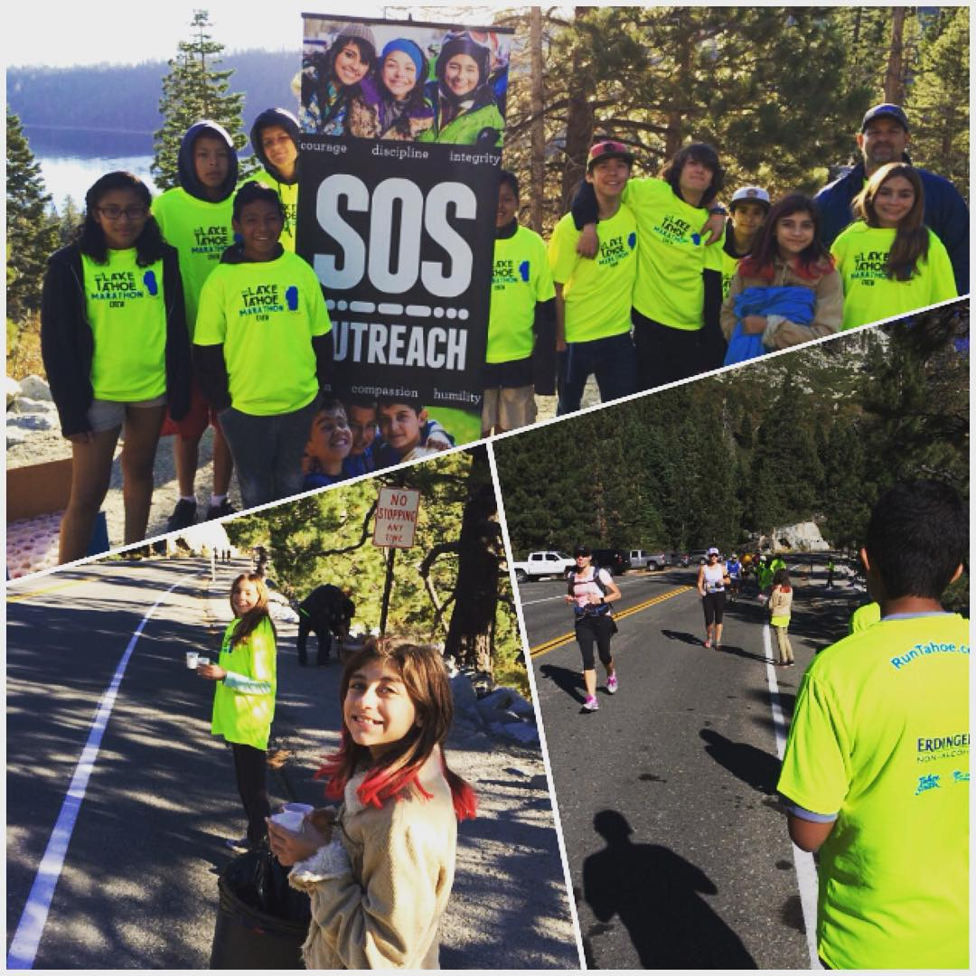 What a beautiful day to be part of the #laketahoemarathon! Our #laketahoe students had a blast manning the first aid station #safetyfirst #communityfirst #communityservice #dogoodfeelgood #ski #snowboard #weekend #service #running #mentor #charity...