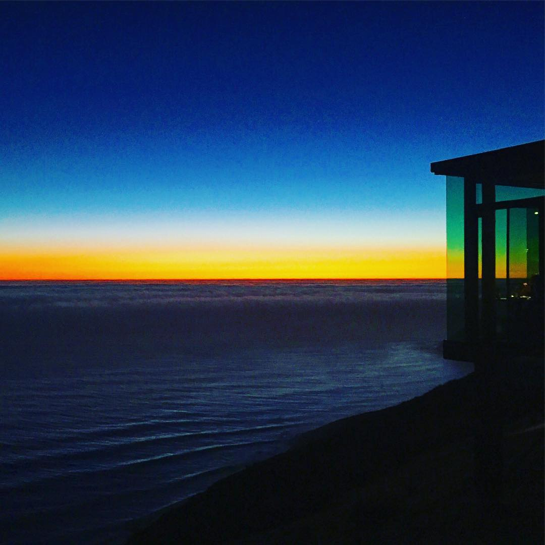 Before Saturn Appeared #stargazing #sundayfunday #sunset #sunsetchaser #roadtrippinwithrachel #bigsur #postranchinn #wanderlust