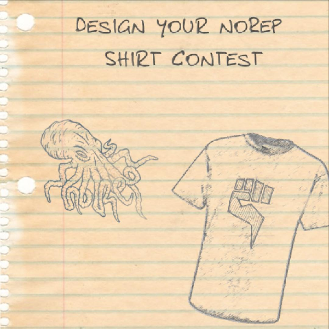 Only 3 days left! For those of you who didn't know yet, if you would like to see your photography, art, or design on a t-shirt, just post it on Instagram with the hashtag #norepteecontest and you may have a chance of winning! It's that simple! Everyone...