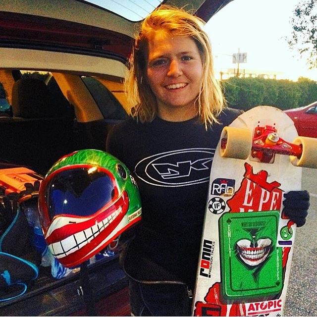@emilylongboards snagged 6th in Open at #soldiersofdownhill in Ohio. Raising the bar, one race at a time