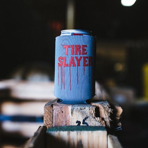 Time is running out for FREE STUFF. Log in over at #hooniganDOTcom, spend $30 and receive this never-for-sale Tire Slayer Koozie. #onlywaytogetit