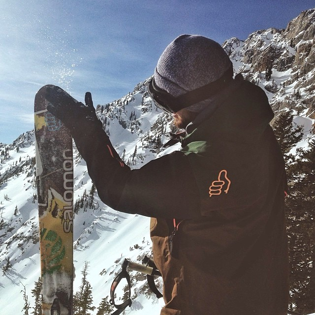 @maxwellsilver in his natural habitat: sunny, snowy, cold #montana. #camobellows #trewlife