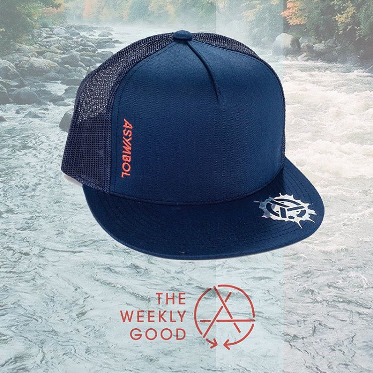 Freshen up your hat game. The Upstream Trucker is The Weekly Hood for Oct 9-16th. Link in profile.  #asymbol #asymbolapparel #theweeklygood