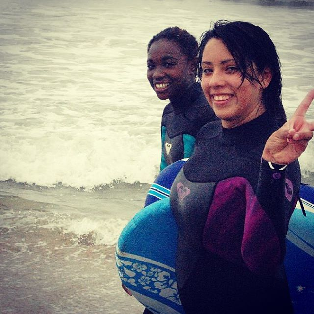 Surf and smiles get us stoked!