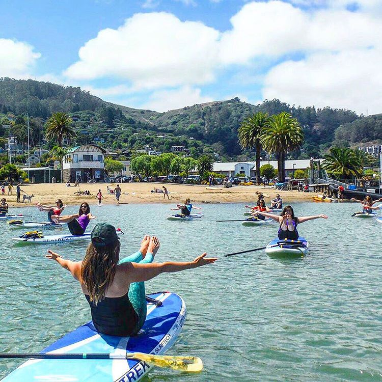 HOPE YOU WEEK IS FULL OF FUN & ADVENTURE #sup #yoga #adventure #fun #endlesssummer #ES15 #emeraldscales #OKIINO @yogaonboardsup