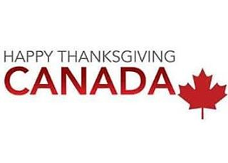 Happy #Thanksgiving to our friends to the north! #Canada