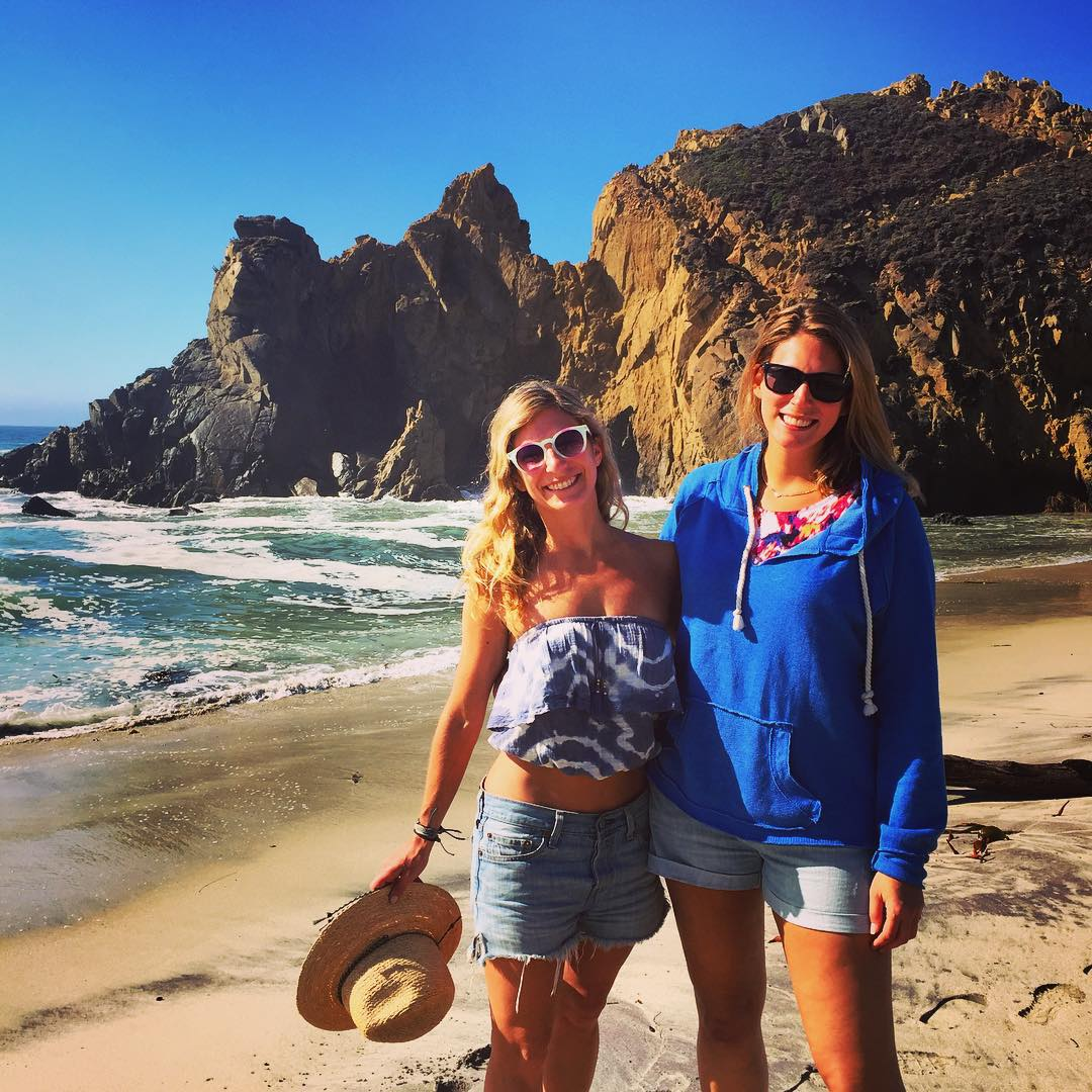 Loving life with @laurenschlanger #microadventure #roadtrippinwithrachel #bigsur #exploremore