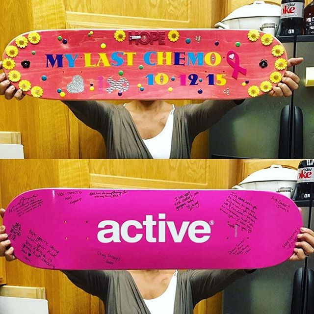 We are proud to partner with @activerideshop this October to raise $30K in 30 days for breast cancer prevention, education and support! The Active x B4BC capsule includes a collection of ridiculously awesome pink socks, skate decks and shirts. Active...