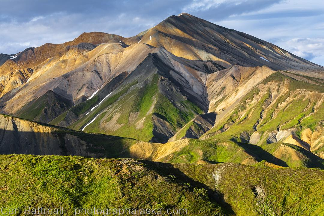 The Delta Mountains, as seen in this image by ASC adventurer Carl Battreal, form the eastern terminus of the #AlaskaRange. . On this #MountainCrushMonday, you can check out more of Carl's work and support his monumental project to photograph the range...