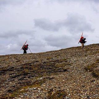 Pasando por los cerros mas altos de Península Mitre para poder bajar al mar nuevamente.#peninsulamitre #conservemos #tierradelfuego