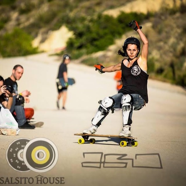 Spanish talent! Laura Rodriguez @guanchiviris ripping in Alicante's #salsitohouse. Pic by @agroman #salsitolife #ownit