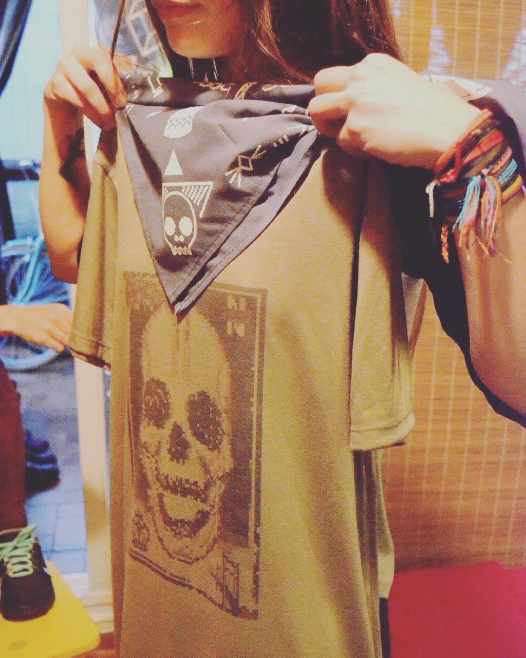 UR style para @zfckoficial  #bandana + #remera #skull #pixel #pixelart #style #urban PH #deuxamiscomunicacion ⭐️