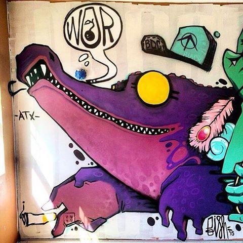 @manwithpencil #surpluscandy #LA • • #Hanksy #spratx #graffiti #grafite #streetart #art