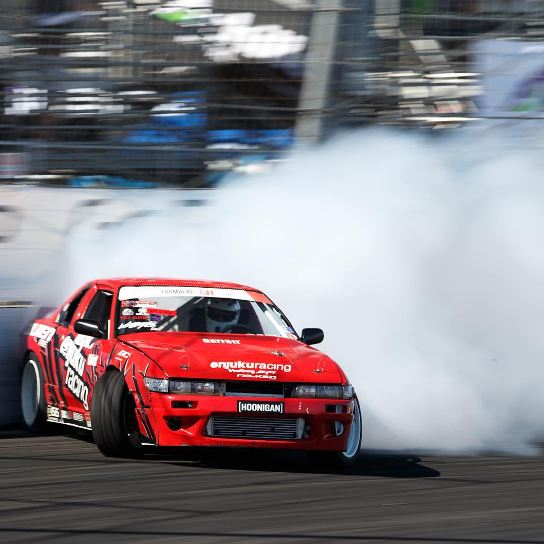 @patgoodin going #fullhotrod on the wall this past weekend at #Formulad Irwindale.