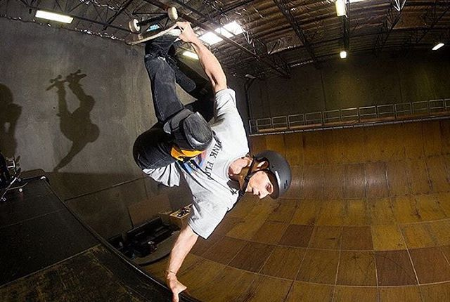 #regram from @alec_beck -- testing Tony Hawk's HAL 9000 invert analysis software. Congratulations on your new job. @tonyhawkfoundation #sk8 #predatorhelmets #originalpredatordesign Photo: @pfurnee