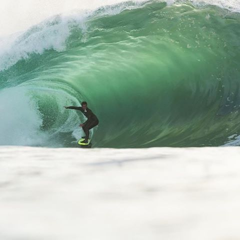 @benjaminsanchis drives through a green cavern on a recent #BillabongAdventureDivision trip to Ireland. For more on A/DIV visit Billabong.com. #Billabongwetsuits
