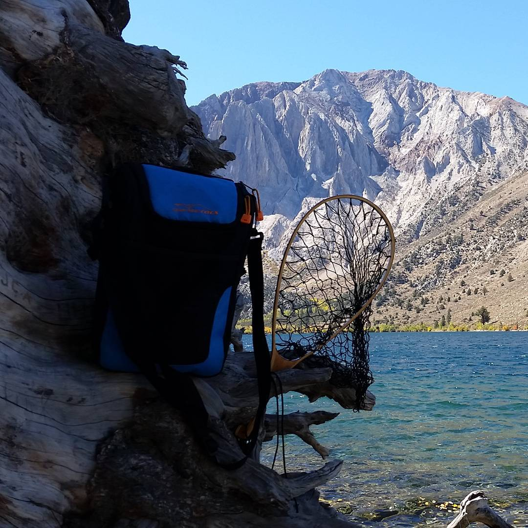 No luck with the #fishing rod, but can't beat the view!  #convictlake #mammoth #getoutside #troutslaying #graniterocx