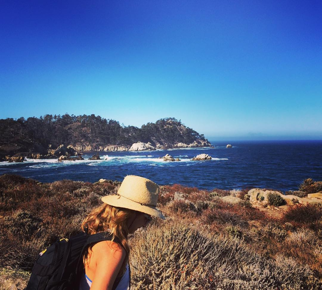Already miss exploring the magical #BigSur coast and canyons with @laurenschlanger // Take me back!! #roadtrippinwithrachel #roadtrip #exploremore #adventureoften #wanderlust #sheexplores
