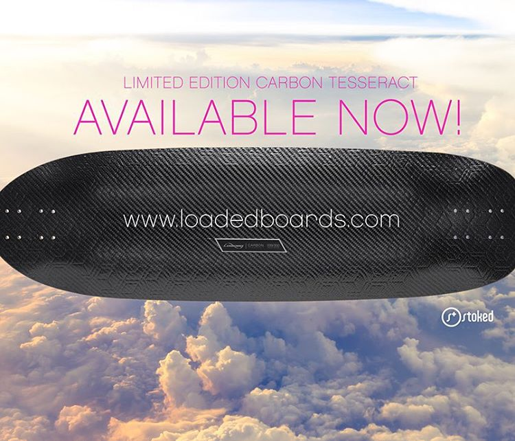 There are just a few of these limited edition Carbon Tesseract decks left from @loadedboards. The sale ends Friday 10/16, so click the link in our bio and order yours today! With every deck purchased, @stokedorg is able to support our students &...