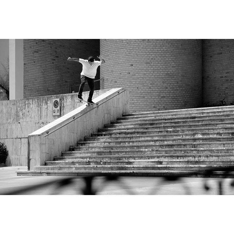 "@tommyfynn backside 5-0 on a beauty of an Italian bubba on the ""Special Delivery Tour"". Check out the full article in the latest issue of @freeskatemag. Photo: @gastonfrancisco. #dcshoes #dcspecialdeliverytour"