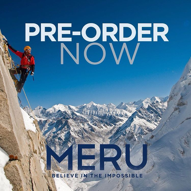 A movie like #merufilm comes along once in a lifetime. After an unparalleled run in theaters it will be available to own on November 17. Make it yours! Pre-order now at http://bit.ly/MERUpreorder.