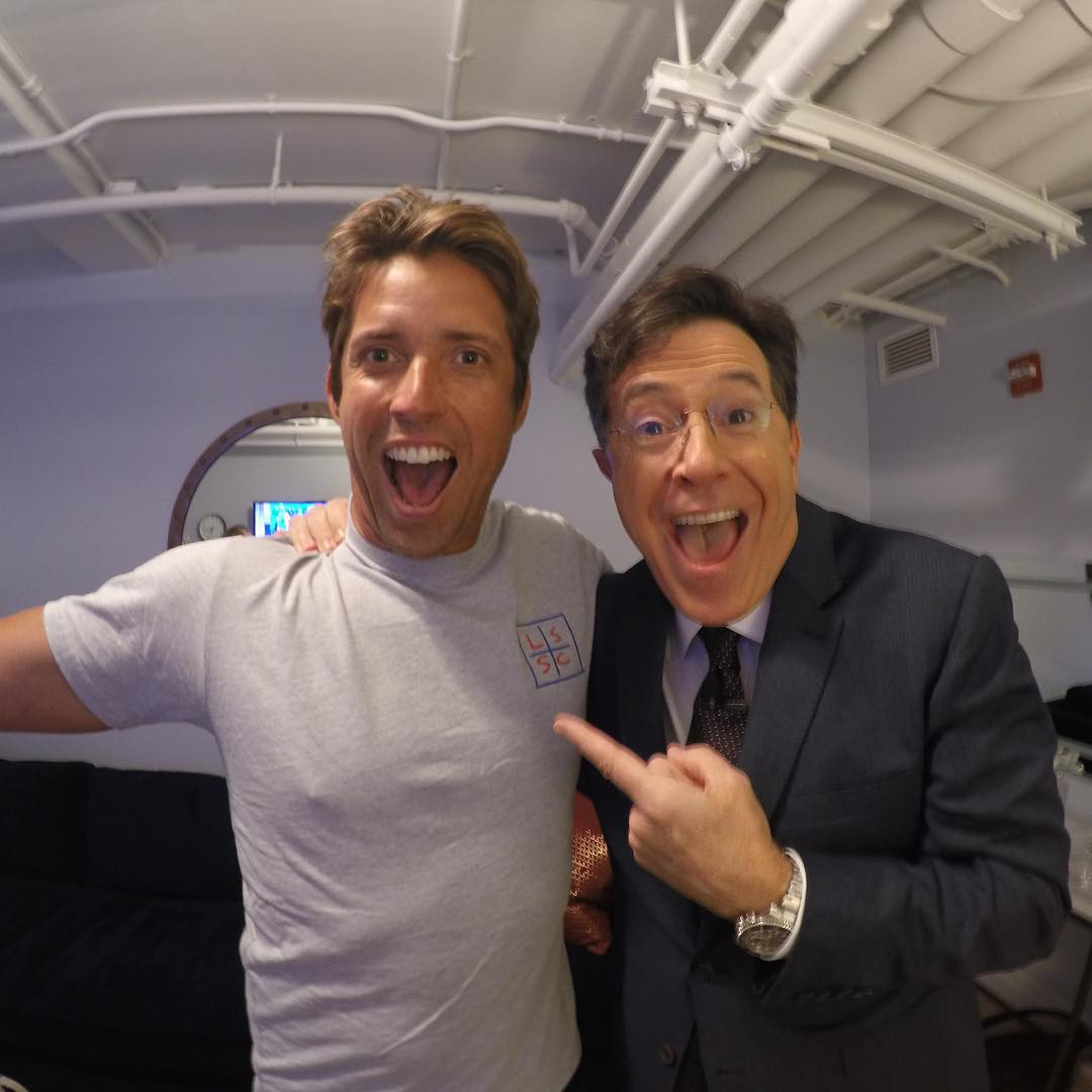 Don't miss #GoPro CEO & Founder Nick Woodman on @colbertlateshow with Stephen Colbert tonight at 11:35pm EST! #LSSC #NYC