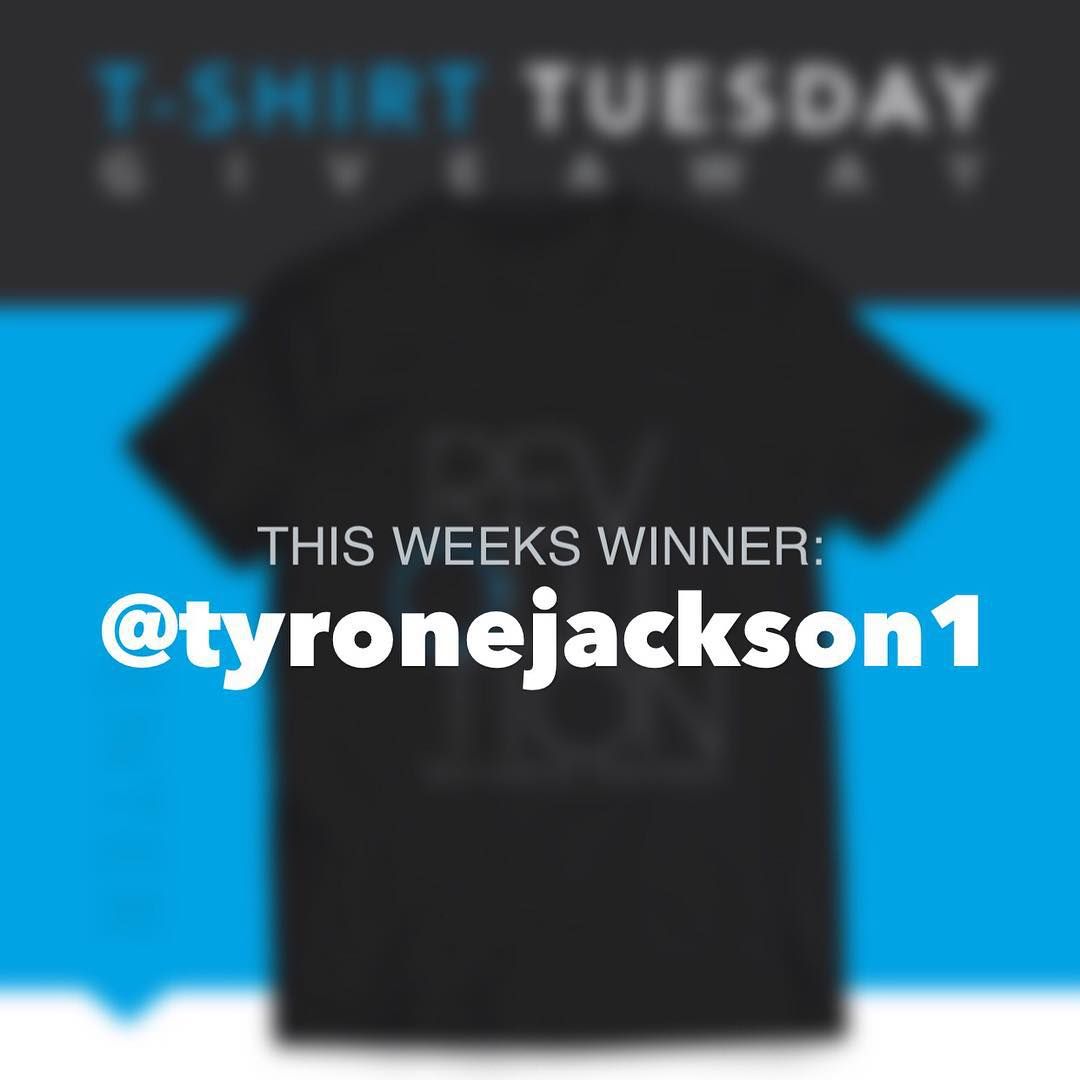Congrats to this weeks winner, @tyronejackson1
