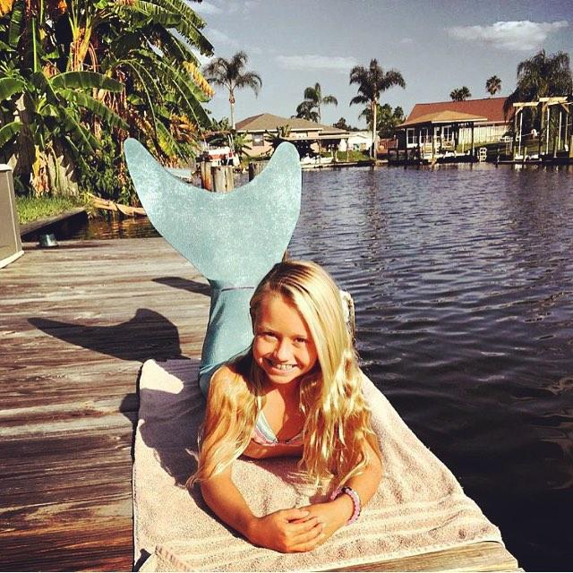 team rider @breesmithsurfer is a #mermaid
