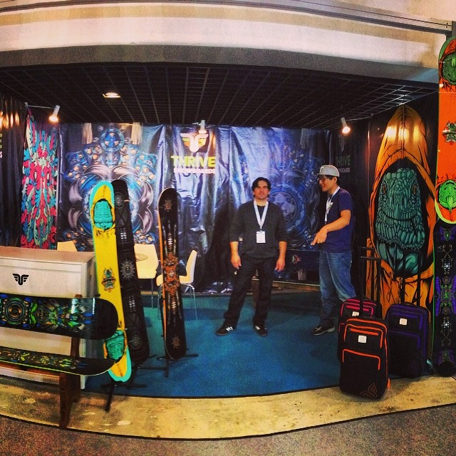Thrive Booth @ispobeijing #thriving #shows #2015gear