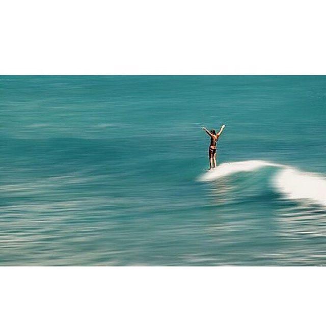 @chloevetterli taking flight on a recent trip to Baja.